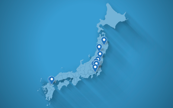 Locations in Japan
