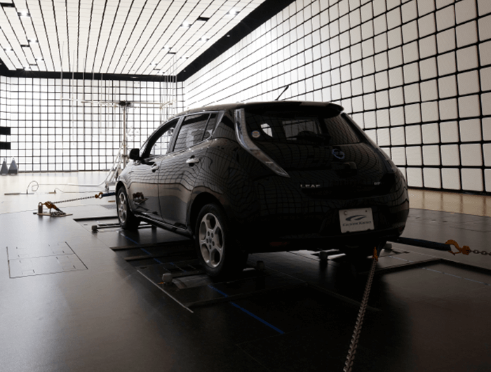 EMC anechoic chamber (vehicle & Units)