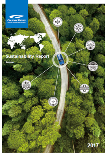 English Edition of Sustainability Report - Summary Version now available