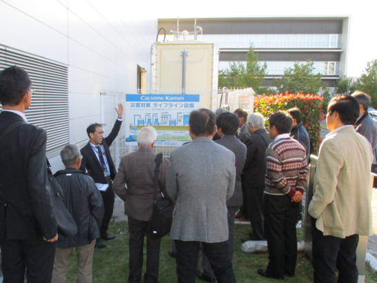 Calsonic Kansei Holds Assembly with Local Residents, Companies, and Governments